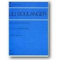Boulanger c 1990 – Trois morceaux pour piano