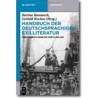 Bannasch (Hg.) 2013 – Handbuch der deutschsprachigen Exilliteratur