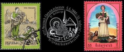 Notburga von Rattenberg - Briefmarken und Stempel