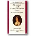 Roland, Noack 1988 – Memoiren und Korrespondenzen