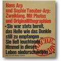 Scheidegger (Hg.) 1960 – Hans Arp und Sophie Taeuber-Arp