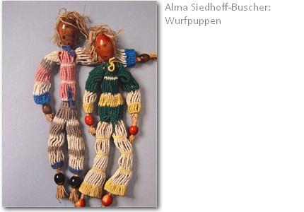 Wurfpuppen von Alma Siedhoff-Buscher