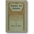 Suttner 1907 – Stimmen und Gestalten