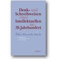 Dane, Hahn (Hg.) 2012 – Denk- und Schreibweisen einer Intellektuellen