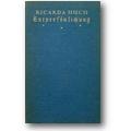 Huch 1921 – Entpersönlichung