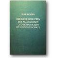Richter 1977 – Kleinere Schriften zur allgemeinen
