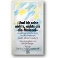 Berger (Hg.) 1987 – Und ich sehe nichts