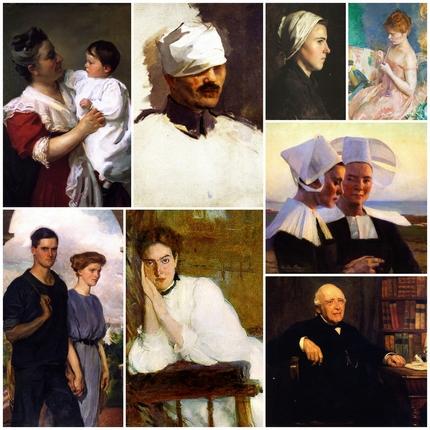 Cecilia Beaux - Porträts