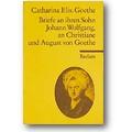 Goethe 1971 – Briefe an ihren Sohn Johann