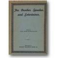 Dunbar 1920 – The Dunbar speaker and entertainer
