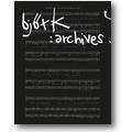 Biesenbach, Björk (Hg.) 2015 – Björk: archives