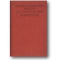 Nietzsche 1926 – Friedrich Nietzsches Briefe an Mutter