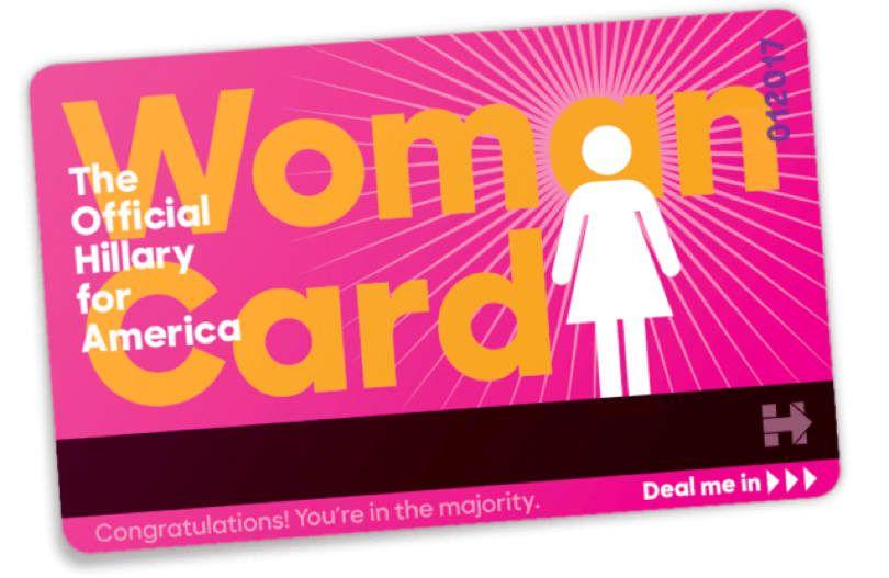 Woman card 810