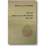 Meysenbug 1982 – Briefe an Johanna und Gottfried