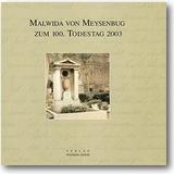 Leuschner, Stummann-Bowert (Hg.) 2003 – Malwida von Meysenbug zum 100