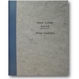 Karsch 1996 – Neue Gedichte