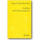 Karsch 1987 – Gedichte und Lebenszeugnisse