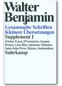 Benjamin 1999 – Kleinere Übersetzungen