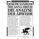 Sandler, Freud 1989 – Die Analyse der Abwehr