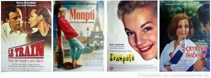 Plakate von Romy-Schneider-Filmen