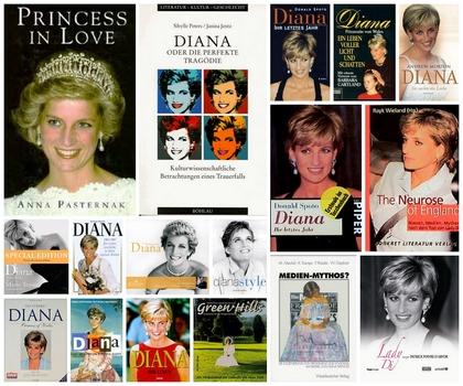 Bücher über Prinzessin Diana