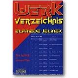 Janke, Clar 2004 – Werkverzeichnis Elfriede Jelinek