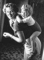 Ingrid Bergman mit Robertino, 1956