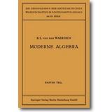 Waerden 1930 – Moderne Algebra