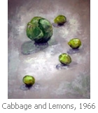 Hallie B. Stiegman: Cabbage and Lemons, 1966