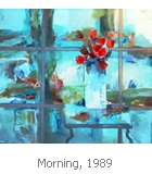Hallie B. Stiegman: Morning, 1989