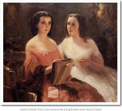 Anna Schleh und Hedwig Dohm