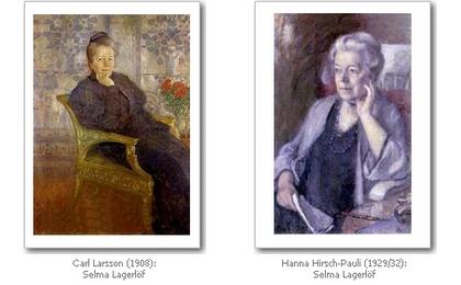 Selma Lagerlöf, von Künstlern gesehen