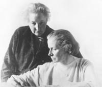 Anita Augspurg und Lida G. Heymann