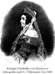 Königin Friederike von Hannover