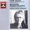 Fauré, Monteverdi 1989 – Requiem Op