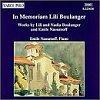 Boulanger, Boulanger et al. 1994 – In memoriam Lili Boulanger