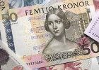 Jenny Lind auf dem schwedischen 50-Kronen-Schein