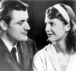 Sylvia Plath mit Ted Hughes