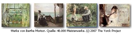 Werke von Berthe Morisot