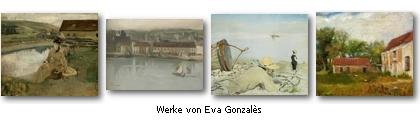 Werke von Eva Gonzalès