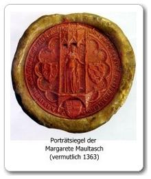 Siegel der Margarete von Tirol
