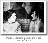 Clara Westhoff und Paula Modersohn