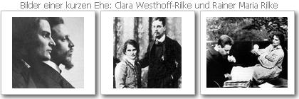 Clara Westhoff und Rilke