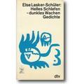 Lasker-Schüler 1983 – Helles Schlafen