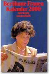 Franca Magnani auf dem Kalender Berühmte Frauen 2000