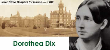 dorothea dix - notable women