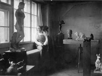 Winsloe im Atelier