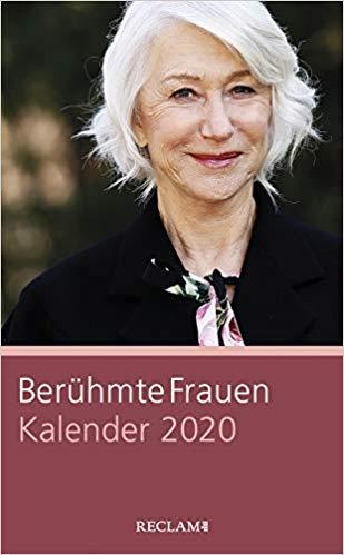 Berühmte Frauen: Kalender 2020
